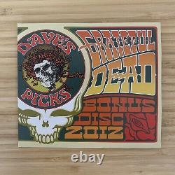 Grateful Dead Dave Sélection De 2012 Bonus Disc CD Capital Centre 29/07/74 Landover MD