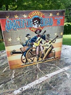 Grateful Dead Dave Sélection De 8 Fox Theater Atlanta Ga 30/11/1980 D'enregistrement De La Matrice