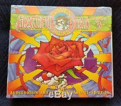 Grateful Dead Dave Sélection Tripadvisor Vol 3 Chicago, IL 22/10/71 (sealed, Ltd, Poo, 3-cd)