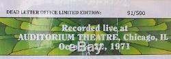 Grateful Dead Dave Sélection Tripadvisor Vol 3 Ultra Rare Lettre Morte Office Version De 91 500