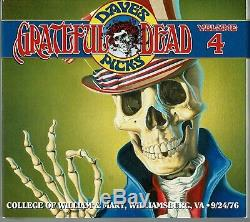 Grateful Dead Dave Sélection Tripadvisor Vol 4 Williamsburg, Va 9/24/76 3 Disques Numérotée Ed