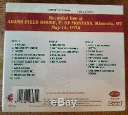 Grateful Dead Dave Sélection Tripadvisor Vol 9 Missoula, Mt 14/05/74 (scellé, Limited, Poo, 3-cd)