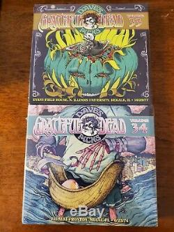 Grateful Dead Dave Vedette. Marque Newithsealed Volumes 1-34