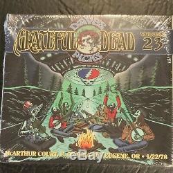 Grateful Dead Dave's Choisit 23 Eugene Ou Marque New Sealed Limitée 22.01.1978 Poo