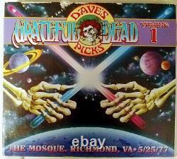 Grateful Dead Dave's Pick 1 The Mosque Richmond Va 25/05/77 Edition Limitée