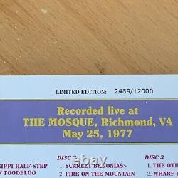 Grateful Dead Dave's Picks #1 Mosque 25/05/77 Case Good Discs Clean #2489/12000