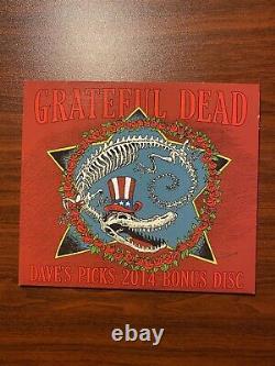 Grateful Dead Dave's Picks 10 2014 Bonus Disc Thelma Los Angeles 12/12/1969 4 CD