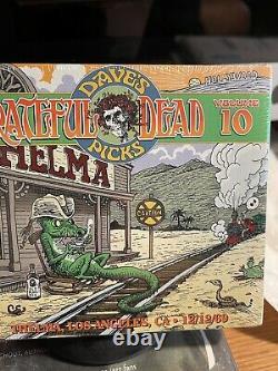 Grateful Dead Dave's Picks 10 Thelma Los Angeles 912/12/69 Ca 3 CD W Bonus CD
