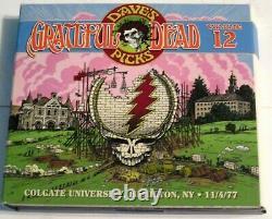 Grateful Dead Dave's Picks 12 Colgate University 11/4/1977 3 CD