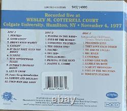 Grateful Dead Dave's Picks 12 Colgate University Ny 11/4/1977 3cd Nouvelle Marque Rare