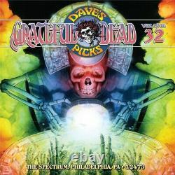 Grateful Dead Dave's Picks 2019 Abonnement V. 29,30 Withbonus, 31,32 Nouveautés Et Scellés
