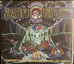 Grateful Dead Dave's Picks 23 Mcarthur Court Eugene, Or 1/22/78 Oop Scellé