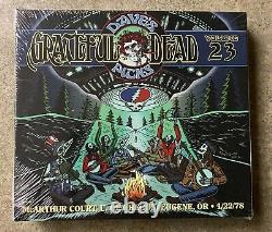 Grateful Dead Dave's Picks 23 Twenty-three Mcarthur Court Eugene Or 22/1/78 Nouveau