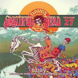 Grateful Dead Dave's Picks 27 Boise State Idaho 9/2/1983 Nouveau Tueur De Hdcd Scellé