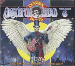 Grateful Dead Dave's Picks 6 Volume Six Fillmore 12/20/69 Fox 2/2/70 Oop 3-cd