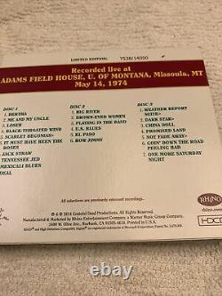 Grateful Dead Dave's Picks 9 Volume Missoula Montana Grizzlies Mt 5/14/1974 3 CD