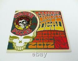 Grateful Dead Dave's Picks Bonus Disc 2012 CD Capital Centre Landover MD 29/07/74