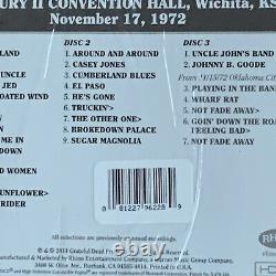 Grateful Dead Dave's Picks Vol 11 Wichita Kansas 11/17/1972 3cd #4118 Nouveau Scellé