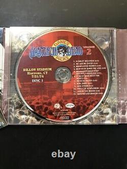Grateful Dead Dave's Picks Vol. 2, 3 CD Album, Dillon, Hartford, Ct 7/31/74 Nm