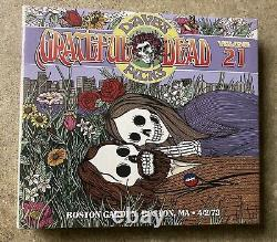 Grateful Dead Dave's Picks Vol 21 Twenty-one Boston Garden Ma 4/2/73 Flambant Neuf