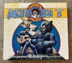 Grateful Dead Dave's Picks Vol. 5 Five Pauley Pavilion Ucla Ca 17/11/73 Nm