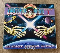 Grateful Dead Dave's Picks Volume 1 One Mosque Richmond 25/05/77 Star Wars 3 CD