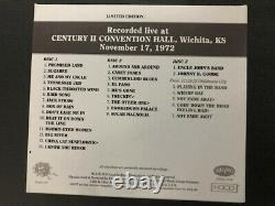 Grateful Dead Dave's Picks Volume 11 3cd Wichita Kansas'72