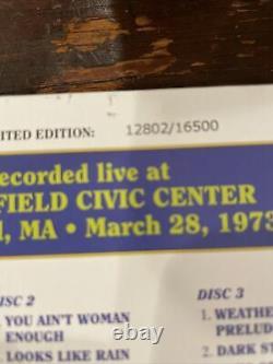 Grateful Dead Dave's Picks Volume 16 3/28/73 3 Disques 1973 Springfield CIVIC Ctr