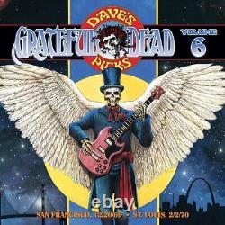 Grateful Dead Dave's Picks Volume 6 3 CD Limited Edition Live Vg