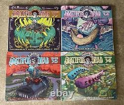 Grateful Dead Daves Picks Complete 2020 Set 33 34 35 36 Bonus Numéroté Scellé