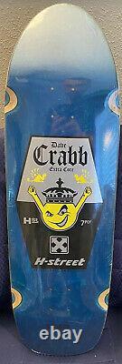 H Street Deck Dave Crabb Limited Edition Réédition Nos Skateboard