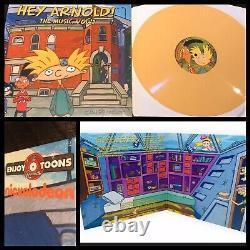 Hey Arnold! La Musique Vol 1 Lp Lp Lpr Vinyl 1st-jim Lang Dave Marino Nickelodeon