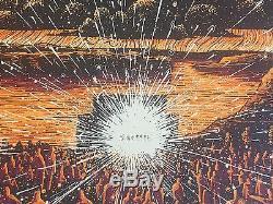 James Eads Gorge Amphitheatre Dave Matthews Heavens Édition Limitée Poster