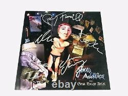 Jane's Addiction Signé Lp Record Great Escape Artist Perry Ferrell Dave Navarro