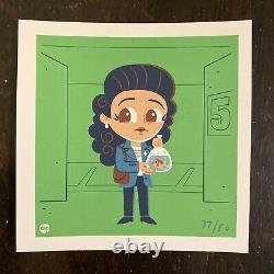 Jerry Seinfeld 37/50 Kramer George Costanza Elaine Art Print Dave Perillo Mondo