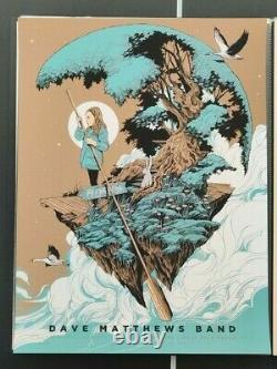Ken Taylor Dave Matthews Band Palm Beach 2016 Artist Print #d/75 Affiche De Gig