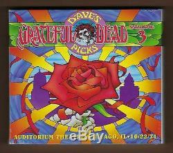 Le Choix Des Grateful Dead Dave 2012 Vol. 3 Chicago, IL 22/10/71 Marque Newithsealed Oop