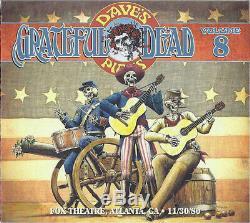 Le Choix Des Grateful Dead Dave 8 Fox Theater Atlanta Ga 30.11.80 532998 Encore Scellé