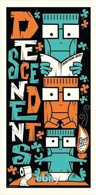 Les Descendents Milo Totem Tiki Edition Limitée Affiche D'impression -dave Perillo