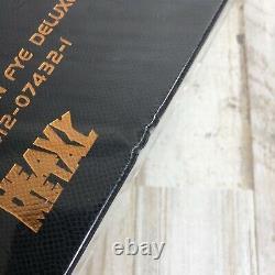 Megadeth New Death By Design Boîte En Vinyle 4-lp Fye Dave Mustaine Signature