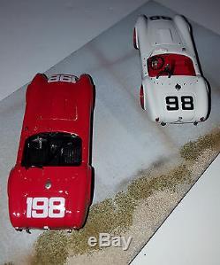 Modèles Marsh 1/43 Cobra 260 Dave Macdonald Vainqueur Ken Miles 1963 Riverside # / 25