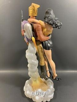 Mondo The Rocketeer And Betty 14 Polystone Statue Limited Edition Dave Stevens