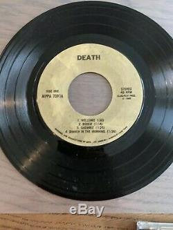 Mort Piggy Règles Mort 7 Art Vinyl Made By Dave Brockie & CD Signé Par Dave