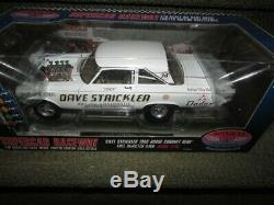 Nib Dave Strickler 65 Awb Dodge Inj Funny Car Nhra Drag 1 18 Modèle 50804 Diecast