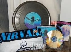 Nirvana Nevermind Gold CD Ltd #d Import Tin Film Can Set Foo Combattants Dave Grohl