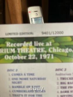 Nouveau CD De Dave's Picks, Vol. 3 Chicago IL Illinois Auditorium Theatre