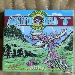 Picks De Dave Grateful Dead 9 Missoula Montana Mt 5/14/1974 3cd Nouvelle Marque Scellée