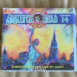 Pioche Le Vol De Grateful Dead Dave 14 26/03/72 Ny 1972 Nouveau Bonus Scellé 4cd Hdcd #ed