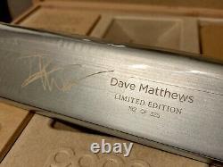 Pono Rare Joueur De Musique Haute Résolution- Édition Limitée 182 De 325 Dave Matthews