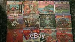 Pronostics De Grateful Dead Dave Volumes 17-28. 3 Disques Bonus & Rare Oop Unopened